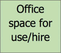 Office space for use or hire